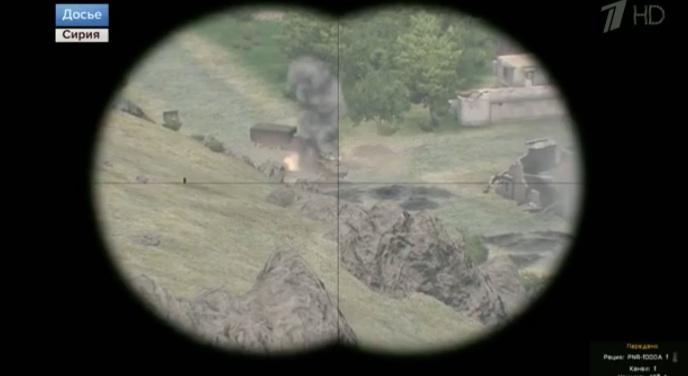 Российский 'Первый канал' подписал кадры из видеоигры как военное досье из Сирии