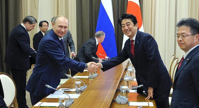 Путинский рояль в кустах для японцев